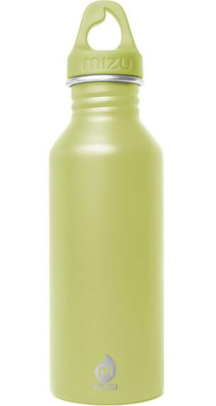 MIZU M5 Bidon with Lime Loop Cap 500ml zielony